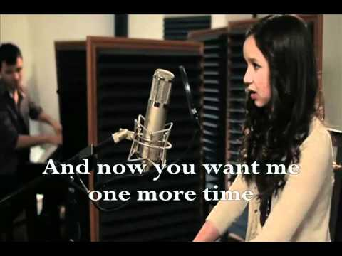 Jar of hearts by maddi jane with lyrics.wmv