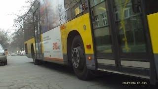 Rasante Busfahrt (06.03.2014)