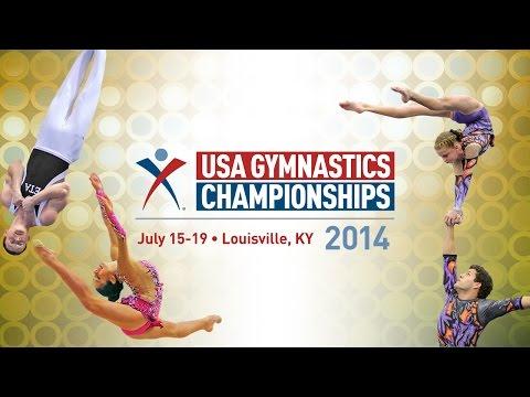 2014 USA Gymnastics Championships - Acrobatic Gymnastics - Jr. Finals