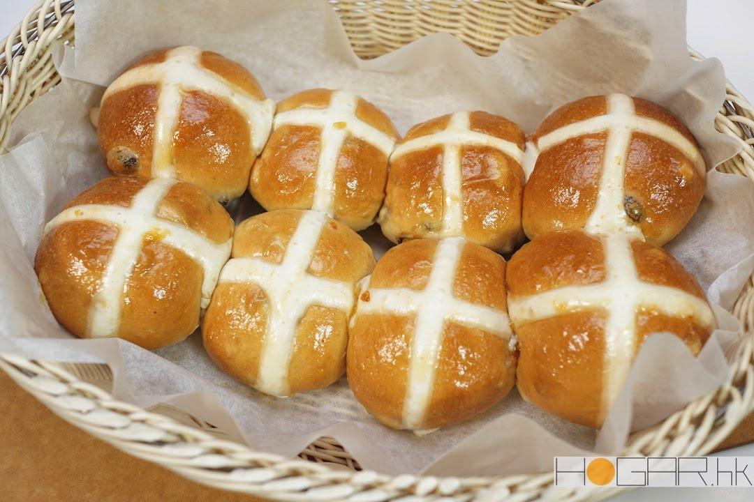 學做復活節十字包 Hot Cross Buns   麵包雲 x Bosch x hogar.hk - YouTube
