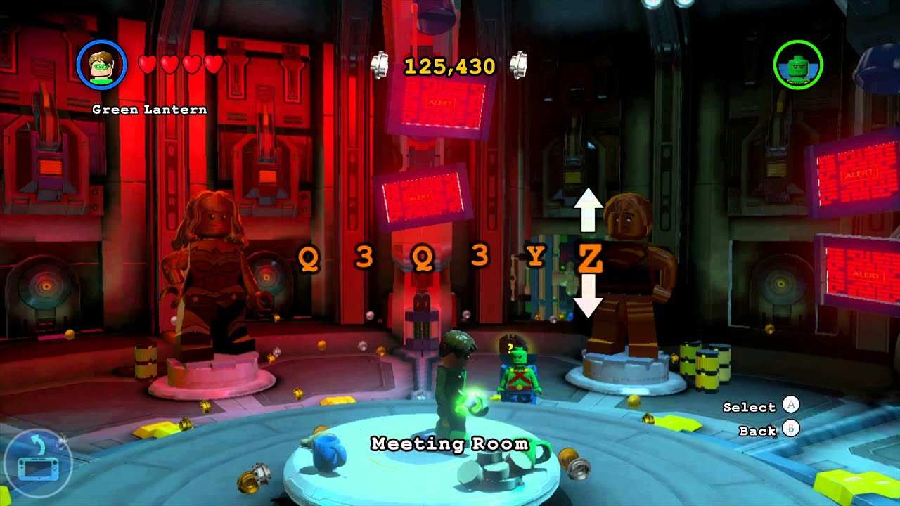 Lego Batman 3 Beyond Gotham Superboy Cheat Code Youtube
