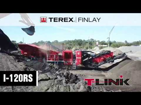 Terex Finlay I-120RS Impact Crusher | OPS Screening & Crushing