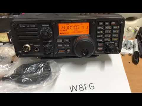 SCS Pactor Modem Settings for Icom IC 7200