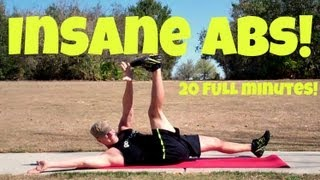 20 min INSANE Abs Workout - EXTREME Home Core Exercises
