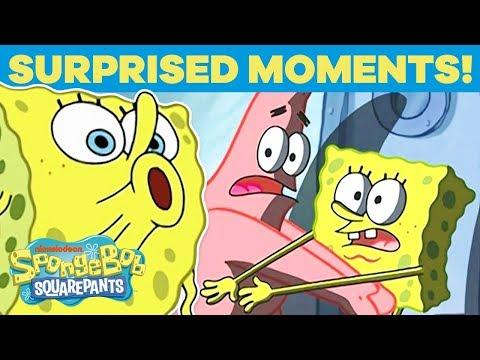 Top 20 Times SpongeBob Was Really Surprised! 😮 SpongeBob   #TBT