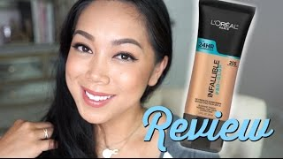 Loreal Infallible Pro Glow Foundation Review - itsjudytime