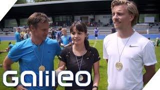 Bundesjugendspiele: Schüler vs. Galileo-Reporter | Galileo | ProSieben