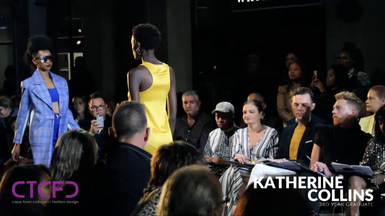 Katherine Collins 3rd Year Graduate Collection Ctcfd Annual Fashion Show 2018 Youtube