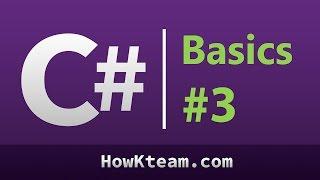 [Khóa học lập trình C# Cơ bản] - Bài 3: Nhập xuất cơ bản   HowKteam