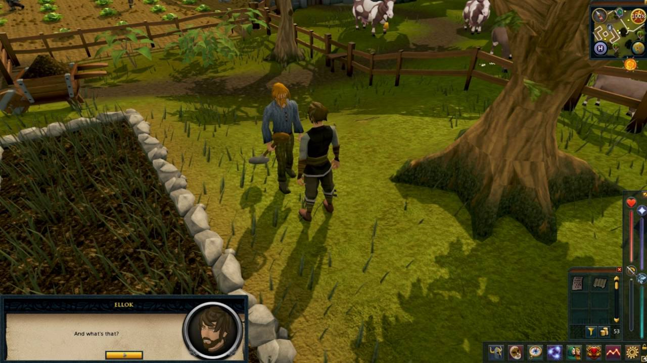 Garden Of Tranquillity Runescape Quest Playthrough Youtube