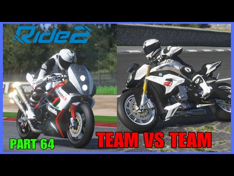 RIDE 2 PS4 PRO gameplay Part 64 | TEAM VS TEAM P4 | #RIDE2