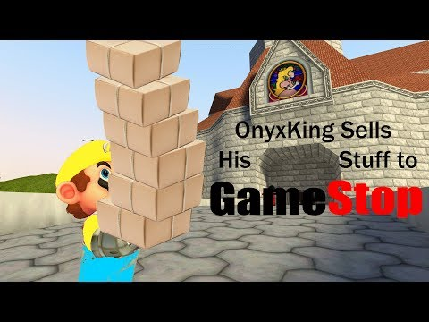 | SM64 Blooper | Onyxking Tries to Sell his Stuff at Gamestop | #COLLABBATTLEROYALE |