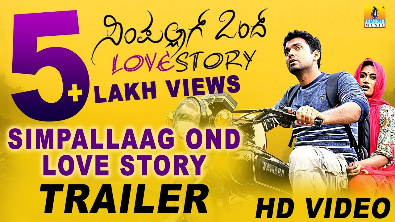 simpallag ondh love story trailer video