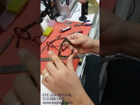 broken hinge replacement(glasses)