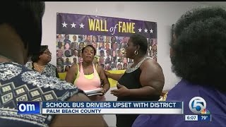 Are school bus drivers being shortchanged in Palm Beach County?