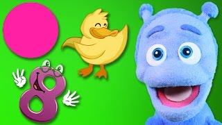 Nauka liczb, kolorów i kształtów - Bajka dla dzieci po polsku - Ubu poznaje świat