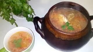 Теперь суп мы готовим только так. Гороховый суп в горшочках в духовке