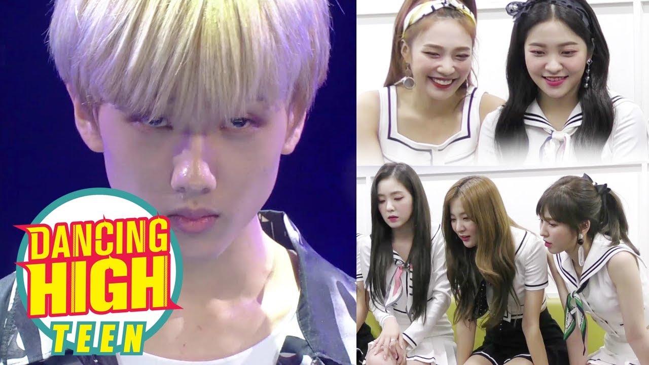 Stage Reaction - Red Velvet : NCT 'Ji Sung' [Dancing High Begins]