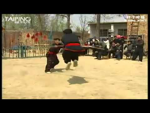 Yihe Quan - Ganzi Duilian [义和拳 - 杆子对练]
