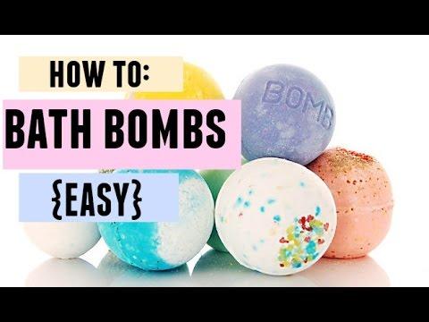 HOW TO: BATH BOMBS {EASY}
