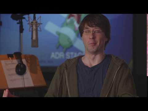 Plankton's voice actor screeching