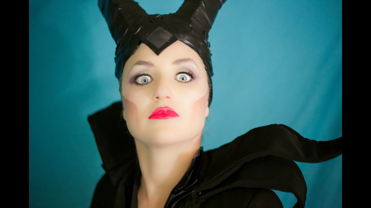 How to do maleficent makeup youtube baditri Gallery
