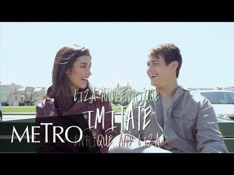SUPER FUNNY! Liza and Enrique Imitate Each Other During the MetroLovesLizQuen Cover Shoot