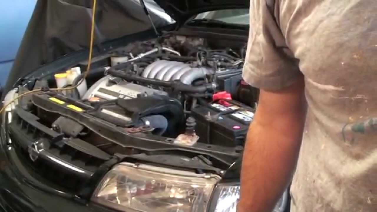 nissan infiniti egr tube trouble code p0400 maxima 4th generation youtube [ 1280 x 720 Pixel ]