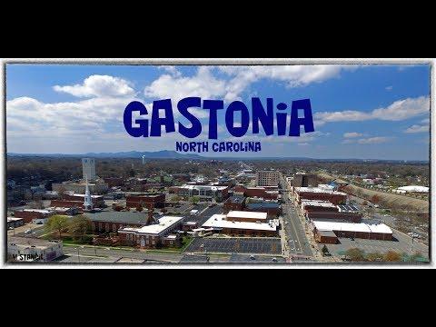 Gastonia, North Carolina (DJI Phantom Drone Footage )