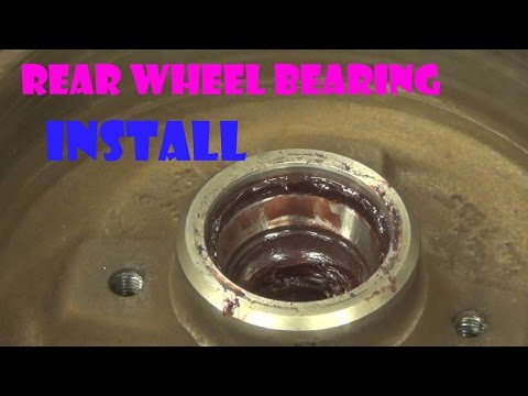 How to diagnosis and change a rear wheel bearing 1998 VW Jetta Tdi