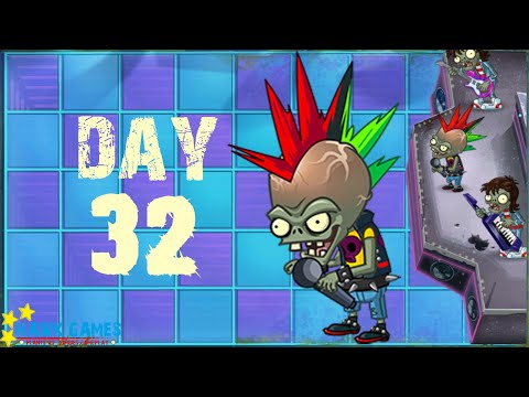 Plants vs Zombies 2 - Neon Mixtape Tour - Day 32 [Zombot Multi-stage Masher] No Premium