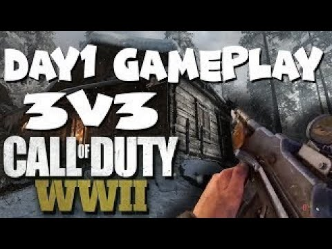 Crossfire 3s Our First Games [] COD WW2