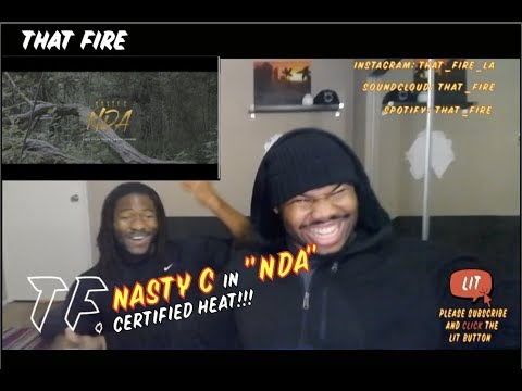 Nasty_C - NDA (Official Video)(Thatfire Reaction)