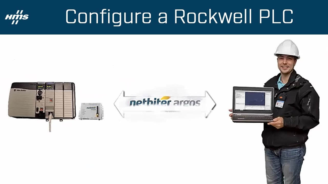 How to configure a Rockwell PLC remotely using Netbiter