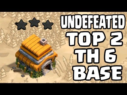 NEW TH6 WAR BASE 2018 Anti 3 STAR | Town Hall 6 (TH6) WAR BASE CLASH OF CLANS
