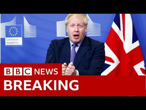 Boris Johnson and Jean-Claude Juncker speak in Brussels - BBC News