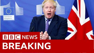 Boris Johnson and Jean-Claude Juncker speak in Brussels - BBC News