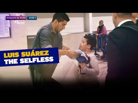 Luis Suárez the selfless / La generosidad de Luis Suárez
