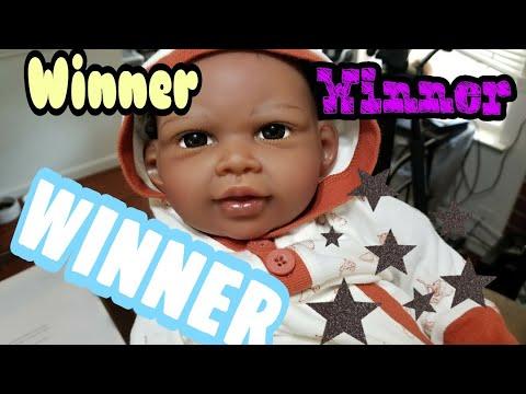 Winner of Paradise Galleries Doll - Reborn Baby Doll