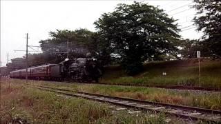 秩父鉄道:「JNR」デフ装備SLパレオエクスプレス 2013.06.08