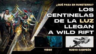 LOS CENTINELAS DE LA LUZ LLEGAN A WILD RIFT. FEAT @League of Yaye
