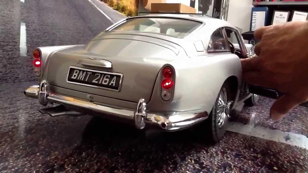 1 8 Scale Aston Martin Db5 James Bond Youtube