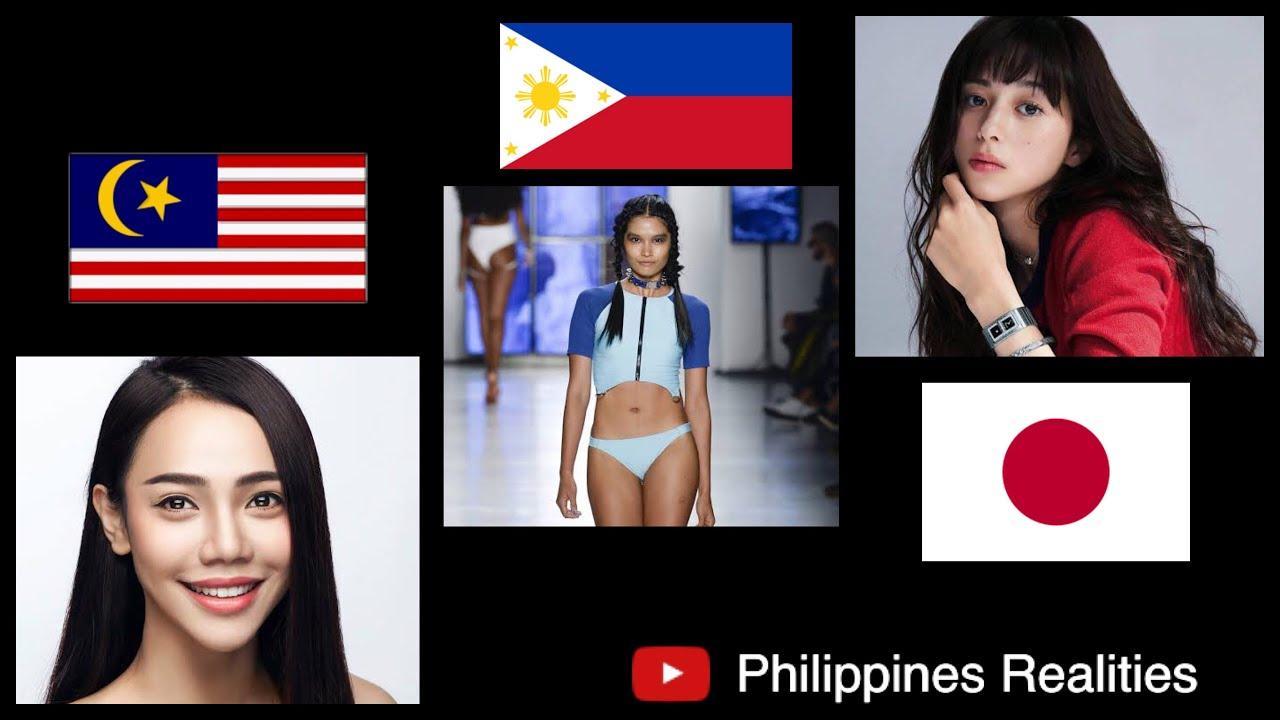 Top Asian Beauties Korea Vs Japan Vs Malaysia Vs Philippines Vs Indonesia