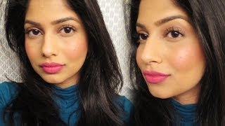 Super easy *long wearing* makeup for brown/olive/indian skin!