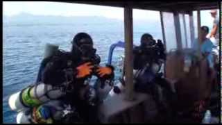 World Record Deepest Ever Scuba Dive Preparation 2014 (Low Res)