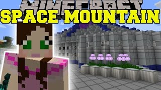 Minecraft: SPACE MOUNTAIN (DISNEY ROLLER COASTER!)