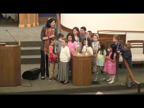 Friday May 5 Shabbat Evening Services with our K 2 Classes