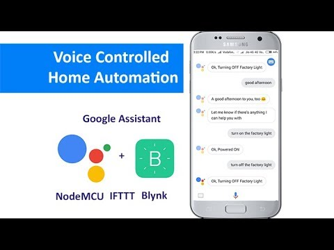 Home automation using google assistant and nodemcu easiest tutorial