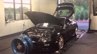 toyota mkiv supra 3 4l stroker gtx 4294 turbo dyno preview 901 rwhp 30psi