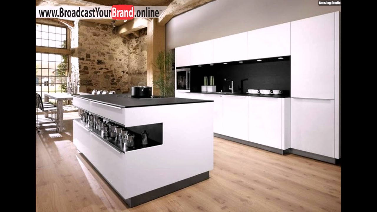 top k chenhersteller europa allmilm schwarz wei insel youtube. Black Bedroom Furniture Sets. Home Design Ideas